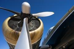 Лопастной крупный план пропеллера 3 Стоковая Фотография RF