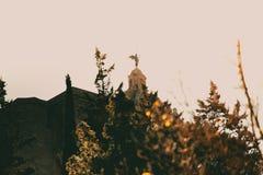 Лопасть ветра на соборе Хероны Стоковые Фото