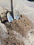 лопата гравия Стоковое Фото