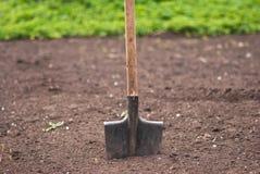 лопата почвы стоковое фото