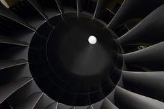 Лопатки вентилятора двигателей турбовентилятора Стоковые Фотографии RF