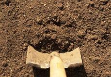 лопаткоулавливатель грязи горизонтальный Стоковая Фотография RF