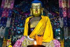 Лорд Будда В Ghoom стоковое изображение rf