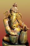 лорд идола ganesha глины Стоковые Фото