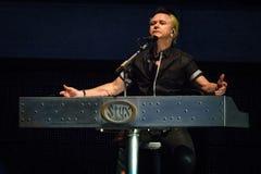 Лоренс Gowan STYX выполняя на концерте Калифорнии Стоковые Изображения