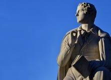 Лорд Байрон, известный английский поэт Стоковые Фотографии RF