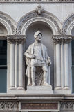 Лорд Статуя К центру города Лондон Англия Стоковая Фотография RF