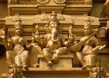 Лорд Ganesha на Sri Naheshwara в Бангалоре. стоковое изображение