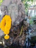 Лорд Ganesha оформления дома статуи успеха Стоковая Фотография RF
