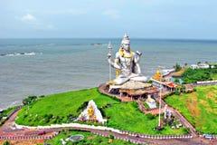 Лорд Shiva Murdeshwar, Индия Стоковое фото RF