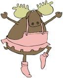 лоси танцы Стоковое Изображение RF