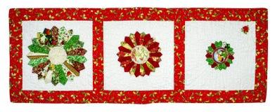 Лоскутное одеяло рождества стоковые фото