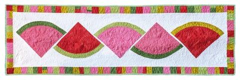 Лоскутное одеяло арбуза Стоковые Фотографии RF