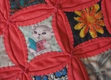 Лоскутное одеяло специализированной части окна петь мыши Стоковая Фотография RF