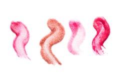 Лоск губы Стоковое Изображение
