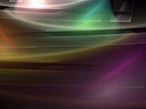 Лоснистая предпосылка фрактали - конспект цифров произвел изображение Стоковое Фото