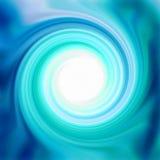 Лоснистая свирль Aqua Стоковые Фотографии RF