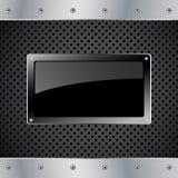 лоснистое металлопластинчатое Стоковые Изображения RF