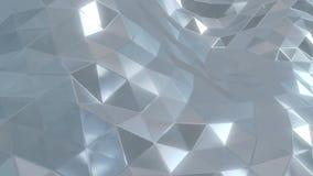 Лоснистые волны треугольников бесплатная иллюстрация