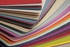 Лоснистые карточки пластмассы PVC Стоковые Изображения RF