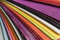 Лоснистые карточки пластмассы PVC Стоковое Изображение