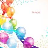 Лоснистый воздушный шар Стоковая Фотография
