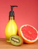 лосьон тела fruity Стоковое Изображение RF