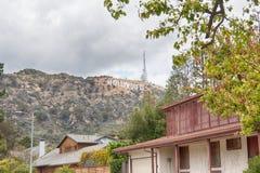 Лос-Анджелес, Соединенные Штаты - май 2018: Ориентир Голливуд мира известный подписывает внутри Лос-Анджелес, Соединенные Штаты А стоковое фото