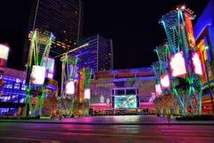 Лос-Анджелес, США - двадцатый из января 2013: Квадрат Майкрософта стоковое изображение rf