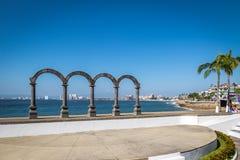 Лос Arcos - Puerto Vallarta, Халиско, Мексика Стоковое Изображение RF