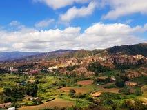 Лос Estoraques, мир размывания стоковое изображение rf
