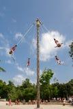 Лос Voladores de Papantla Мексика Стоковая Фотография