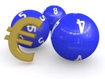 Лотерея евро   бесплатная иллюстрация