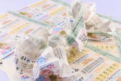 Лотерея Таиланд Стоковая Фотография