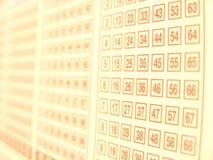 лотерея Стоковое фото RF