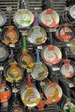 Лотки в магазине стоковая фотография rf