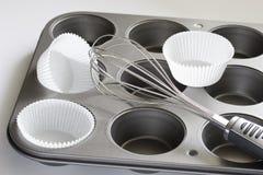 Лоток булочек Стоковая Фотография RF