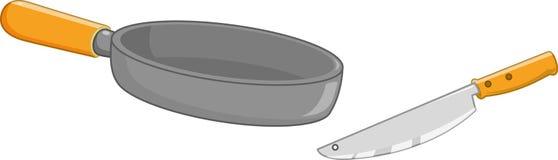 лоток ножа Стоковые Изображения RF
