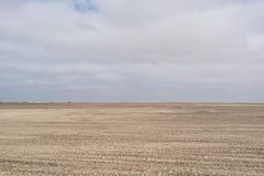 Лоток пустыни Namibe, Ангола вышесказанного стоковая фотография