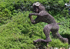 Лоток танцев, Boscastle, Корнуолл Стоковые Фотографии RF
