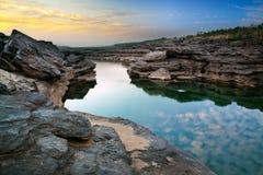 Грандиозный каньон Азии,   стоковая фотография rf