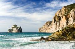 Лоток di Zucchero, Сардиния Стоковое Изображение RF
