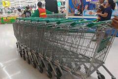Лотос, супермаркет Таиланд - 12-ое июня 2016 Стоковое Изображение RF
