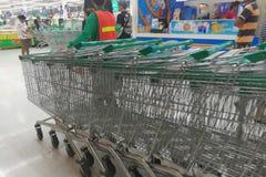 Лотос, супермаркет Таиланд - 12-ое июня 2016 Стоковые Изображения RF