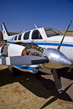 лоточница beechcraft 58 baron Стоковое Фото