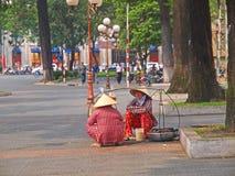 лоточницы въетнамские Стоковое Фото