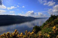 Лох-Несс Шотландия Стоковая Фотография