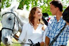 лошади пар Стоковое Изображение RF
