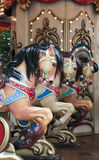Лошади Carosel Стоковые Изображения
