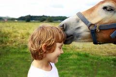 лошадь девушки